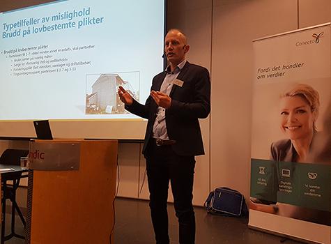 Foto: Bjørn Ove Myhrsveen, Advokat og leder av juridisk avdeling i Conecto