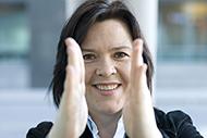 Foto: Elisabeth Holvik, sjeføkonom i SpareBank 1 Gruppen