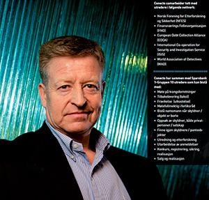 Foto: Lars Helge Eide som har ansvaret for utredervirksomheten i Conecto.