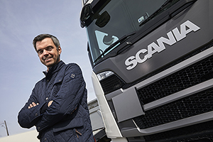 Foto: Petter Grasto, Branch Manager for Scania Finans i Norge