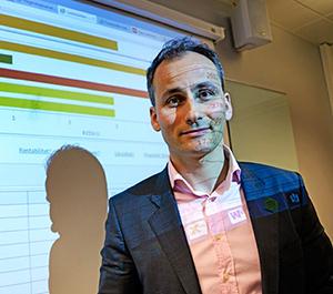 Foto: Anders Thoresen st�r bak Lederkilden.no som n� er integrert i FINALE �rsoppgj�r.