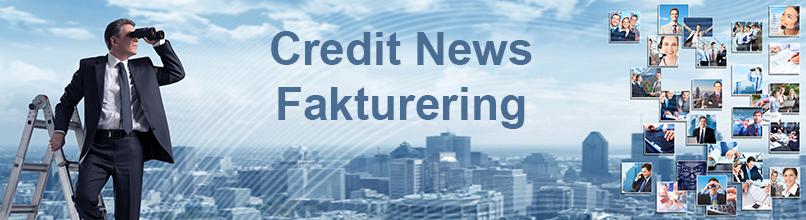 Credit News Fakturering
