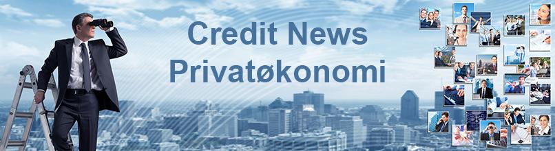 Credit News Privatøkonomi