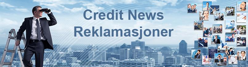 Credit News Reklamasjoner
