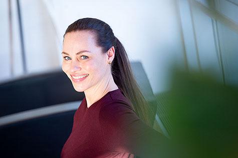 Foto: Forbrukerøkonom Cecilie Tvetenstrand i Danske Bank