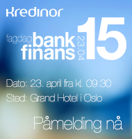 Kredinor - Fagdag for Bank/Finans