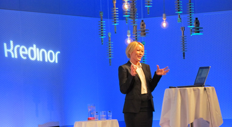 Foto: Kristin Westreng Aas, divisjonsdirekt�r energi i Kredinor.