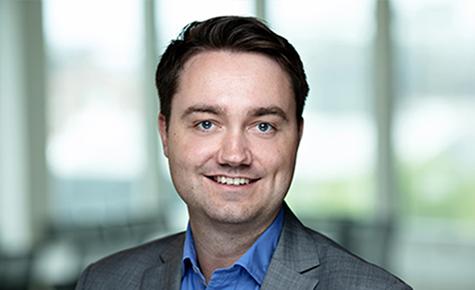 Foto: Audun Rønningen Danielsen, kommersiell direktør i Kredinor