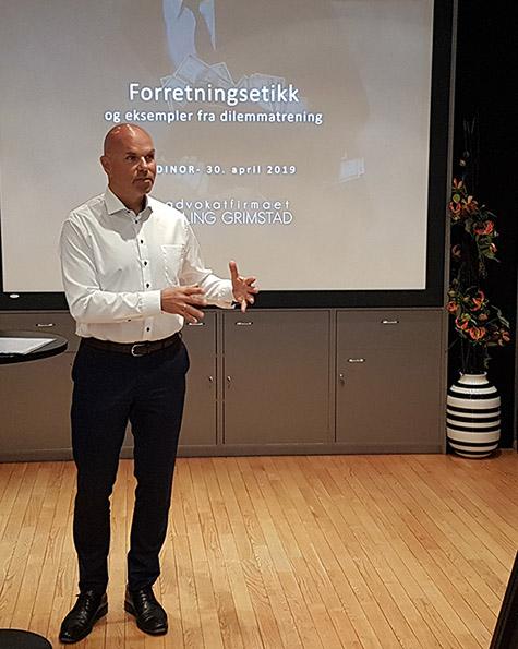Foto: Advokat Erling Grimstad