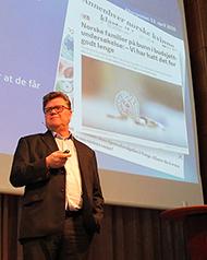 Foto: Adm.direkt�r Tor Berntsen i Kredinor.