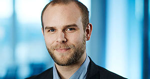 Foto: Robin Tveiten, teamleder for Bank/finans i Kredinor