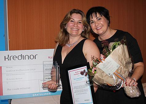 Foto: (f.v.) Åse Linda Hillestad, Lyse Dialog AS og Marianne Marsli, Kredinor Stavanger