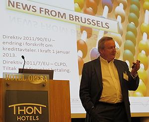 Foto: Advokat og leder i NIF, Baard Sig. Bratsberg