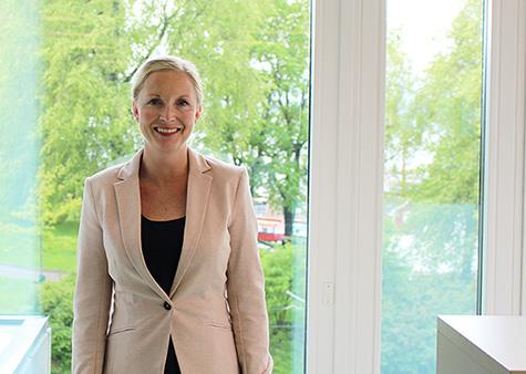 Foto: Hedda Fahlstr�m direkt�r for Kundesenteret i Kredinor.