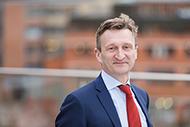 Foto: Mikael Ericson CEO of Lindorff and Intrum Justitia