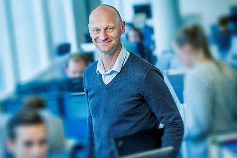Foto: Ole-Henrik Andreassen, direkt�r for Operations for Lindorff i Norge.