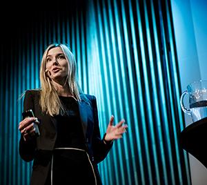 Foto: Sjefsanalytiker i Lindorff, Anette Huseby. Foto: Klaudia Lech.