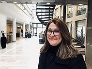 Foto: Siv Hjellegjerde Martinsen administrerende direktør for Lindorff AS