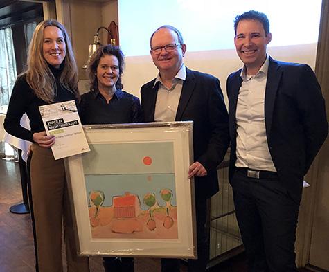 Foto: Katrine Bakke fra Fjellinjen vant Kredittprisen for 2017