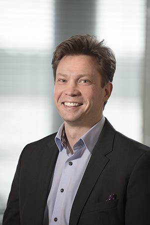 Foto: administrerende direkt�r Sami Seikkula i OpusCapita Norge.