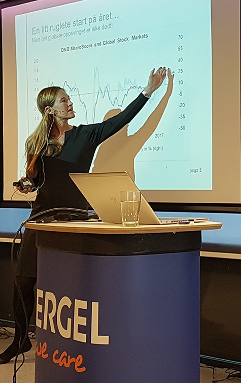 Foto: Jeanette Strøm Fjære, analytiker DNB Markets