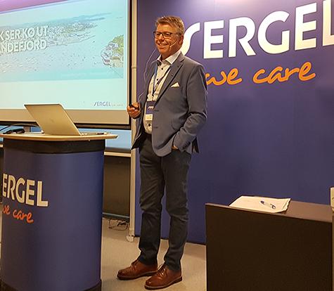 Foto: Sven O.Ingebretsen,adm.dir.,Sergel Norge
