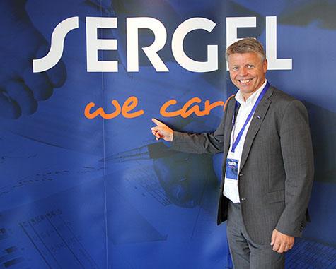 Foto: adm. direktør Sven Ingebretsen i Sergel
