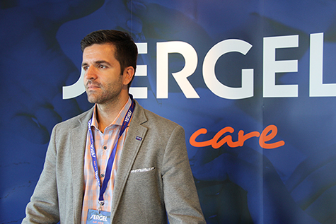 Foto: Besar Hiseni, produktsjef i Sergel Norge