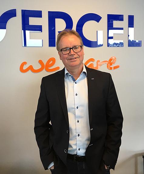 Foto: Ken Bøien, markedssjef i Sergel Norge.
