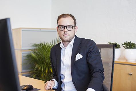 Foto: Nikolai Hansen, Forretningsanalytiker i Sergel Norge