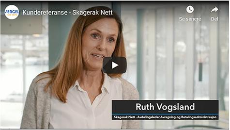 Foto: Ruth Vogsland er leder for avregning og betalingsadministrasjon i Skagerak Nett