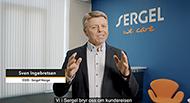 Foto: Sven O. Ingebretsen, administrerende direktør i Sergel Norge